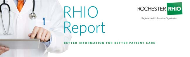 RHIO Report | Better Information for Better Patient Care